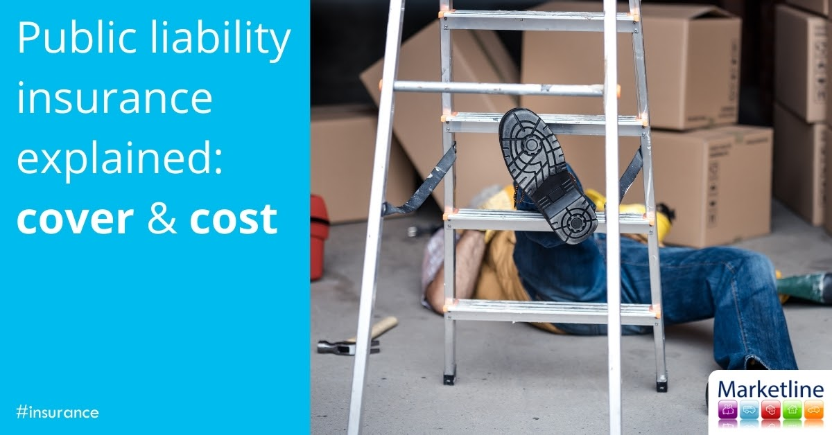 How much does public liability insurance cost for a market stall?