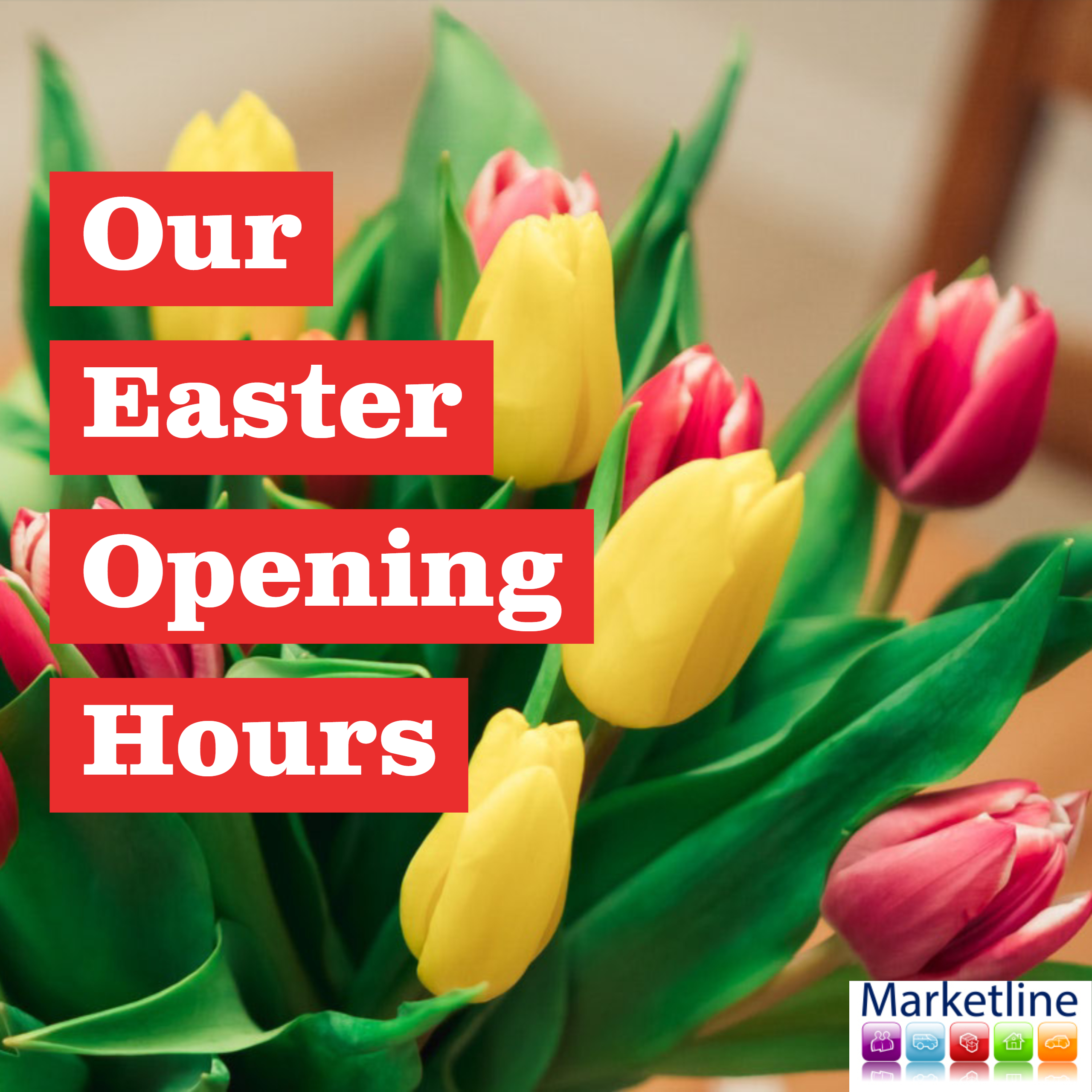 Our Easter Opening Hours 2019